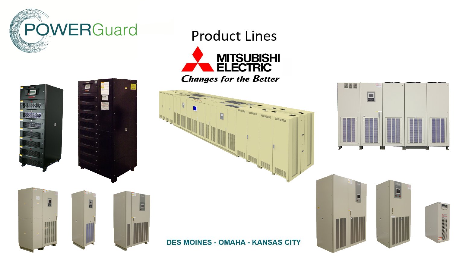 Power Guard & Mitsubishi UPS