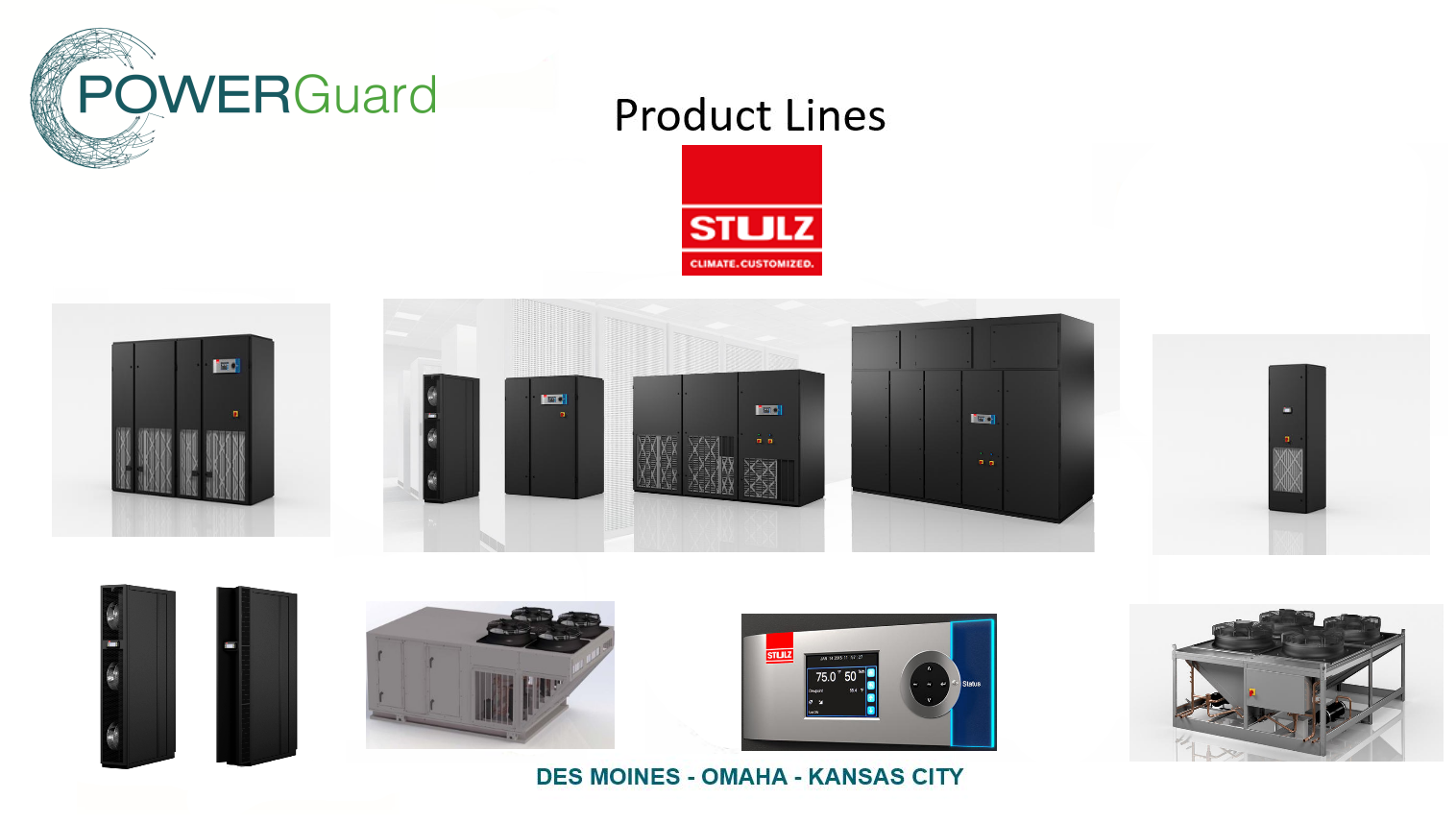 Power Guard & STULZ Air Conditioning Systems