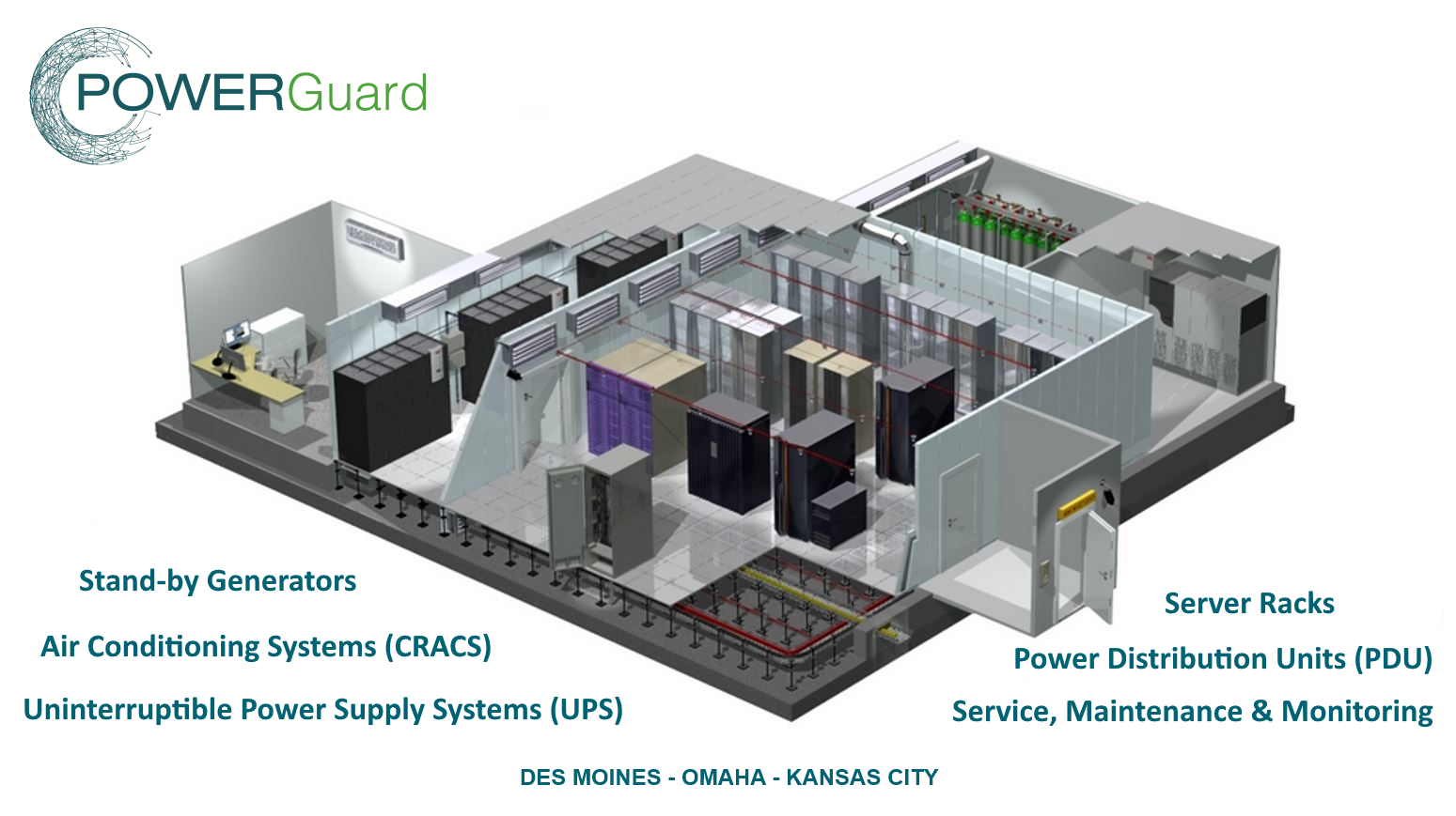 Power Guard builds datacenters